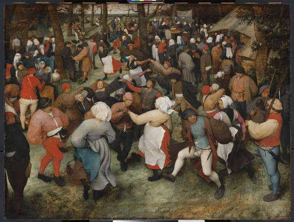 The Wedding Dance, c.1566 (oil on panel)