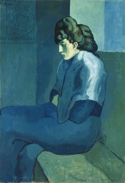 Melancholy Woman, 1902 (oil on canvas)