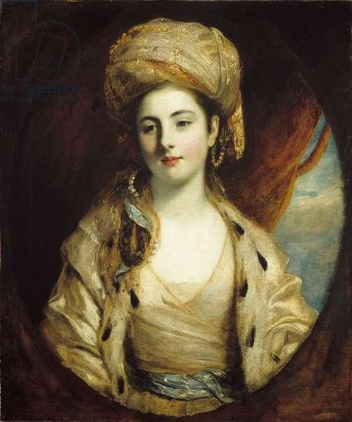 Mrs Richard Paul Jodrell, c.1775 (oil on canvas)