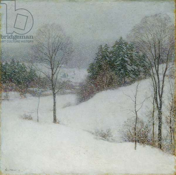 The White Veil, 1909 (oil on canvas)