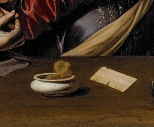 Detail of The Conversion of the Magdalene, c.1598 (oil & tempera on canvas)