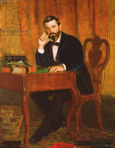 Dr. Horatio C. Wood, 1886 (oil on canvas)