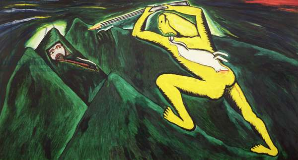 Ferocious Painting, 1980 (oil on canvas)