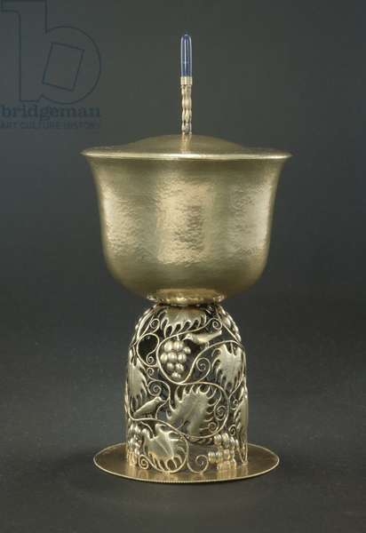 Loving Cup with Cover, c.1925 (silver)