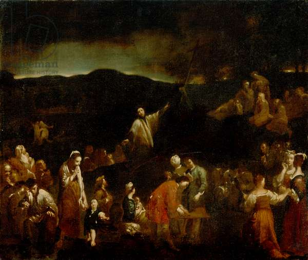 The Mission, c.1710 (oil on canvas)