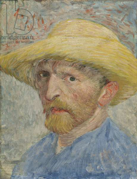 Self Portrait, 1887 (oil on canvas laid down on panel)