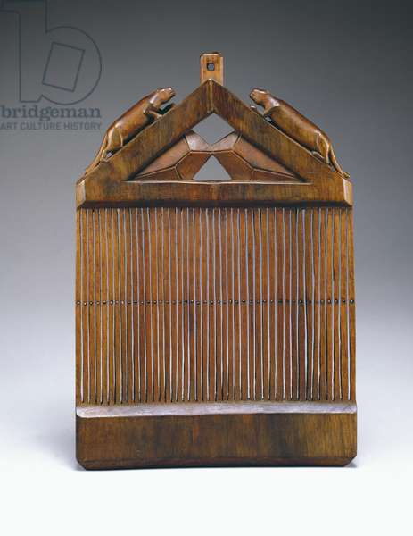 Heddle, c.1900 (walnut)