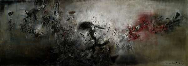 Untitled, 1957 (oil on canvas)