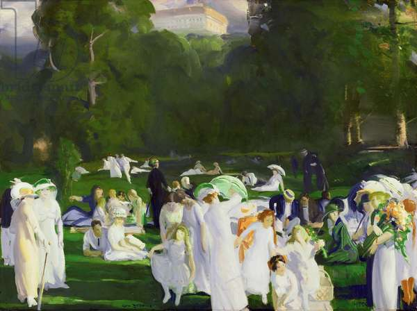 A Day in June, 1913 (oil on canvas)