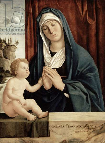 Madonna and Child, late 15th to early 16th century (oil on wood panel)