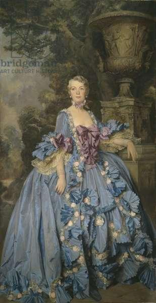 Mrs. Horace Elgin Dodge, 1932 (oil on canvas)