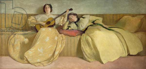 Panel for Music Room, 1894 (oil on canvas)
