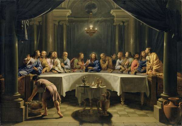 The Last Supper, c.1678 (oil on canvas)