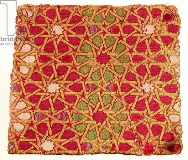 Textile fragment (silk)