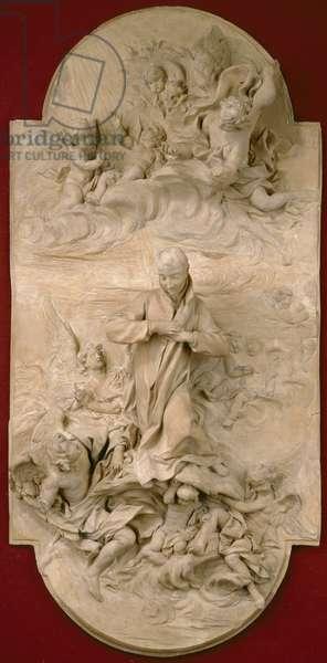 S. Luigi Gonzaga in Glory, c.1696 (terracotta)