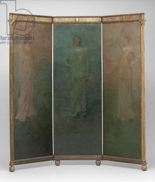 Classical Figures, 1898 (oil on panel)