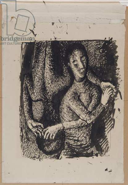 Night and Day, c.1926 (ink on paper)