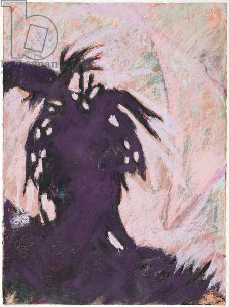 Self Portrait, 1991 (pastel on paper)