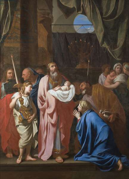 The Presentation of Christ in the Temple, 1645 (oil on canvas)