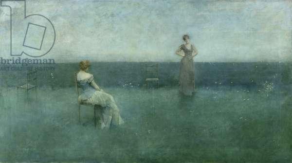 The Recitation, 1891 (oil on canvas)
