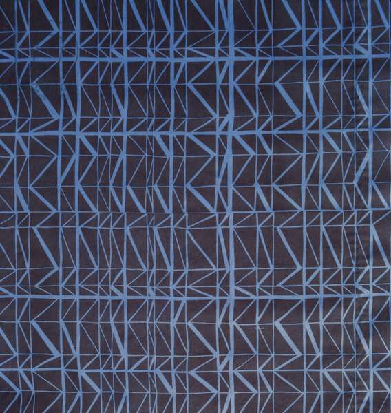 Curtain material, c.1954 (screen-printed cotton)