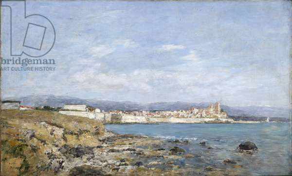 View of Antibes, 1893 (oil on canvas)