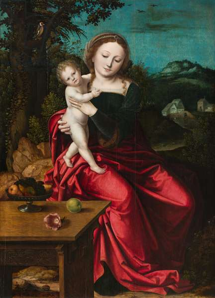 Madonna and Child, c.1515 (oil on panel)