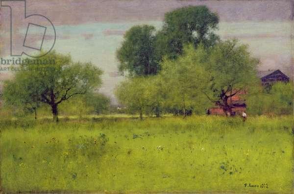 Apple Orchard, 1892 (oil on canvas)