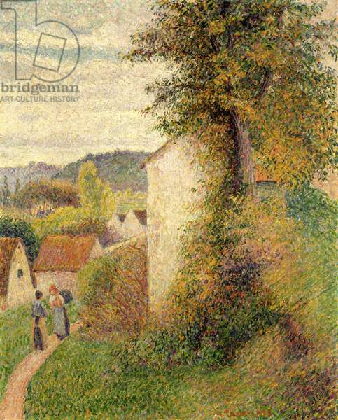 The Path, 1889 (oil on canvas)