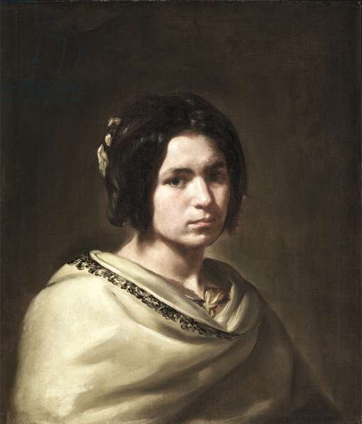 A Woman (oil on canvas)