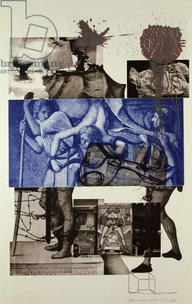 Bellini 3, 1989 (colour litho)