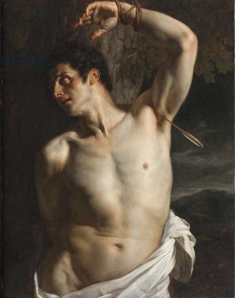 St. Sebastian (oil on canvas)