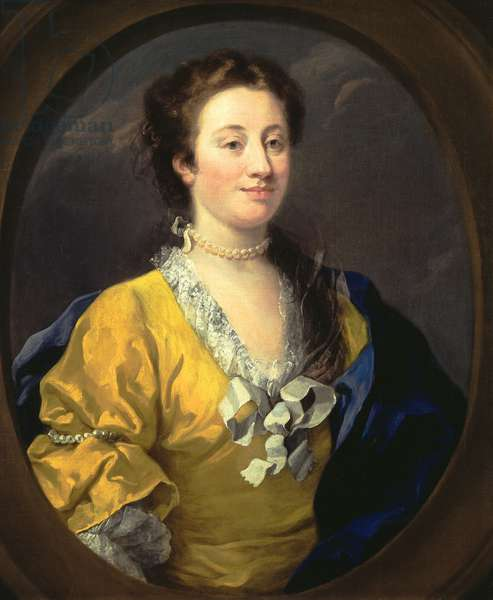 Portrait of a Lady, c.1740 (oil on canvas)