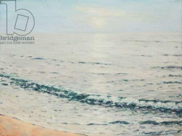 Sunrise over Lake Erie, c.1950 (oil on canvas)