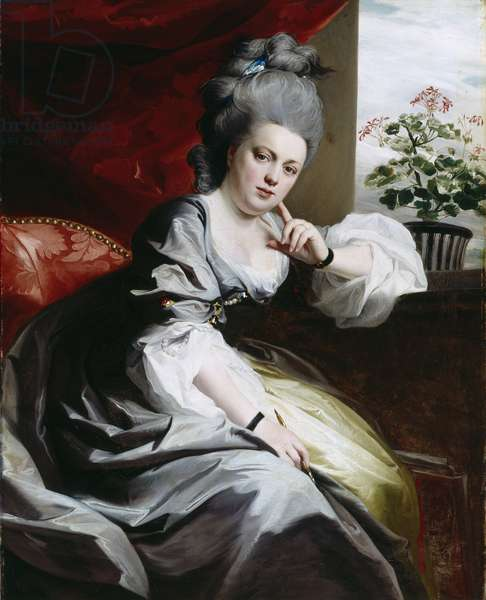 Mrs Clark Gayton, 1779 (oil on canvas)