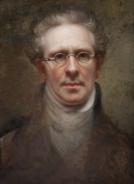 Self Portrait, 1828 (oil on canvas)