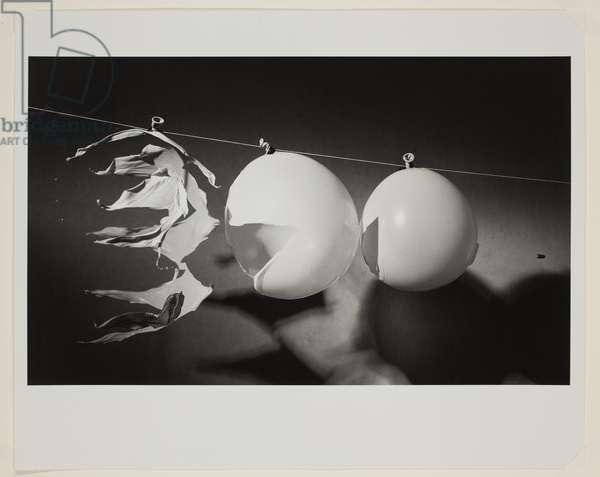 Bullet Through Balloons, 1959 (gelatin silver print)