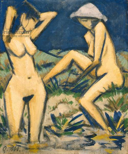 Bathers, c.1920 (oil on canvas)