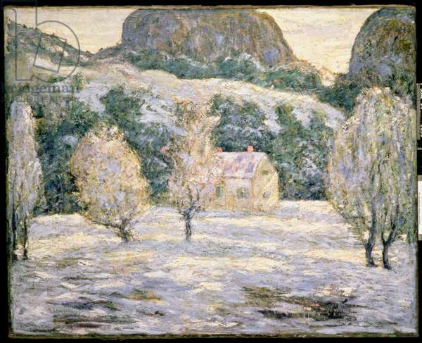Winter, c.1919 (oil on canvas)