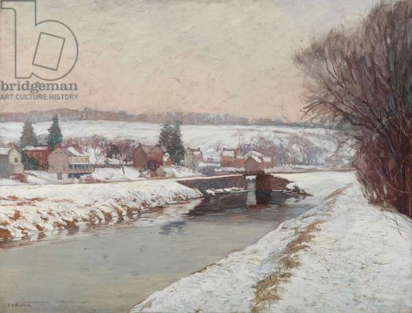 Grey Days, c.1909 (oil on canvas)