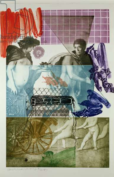Bellini 5, 1989 (colour litho)