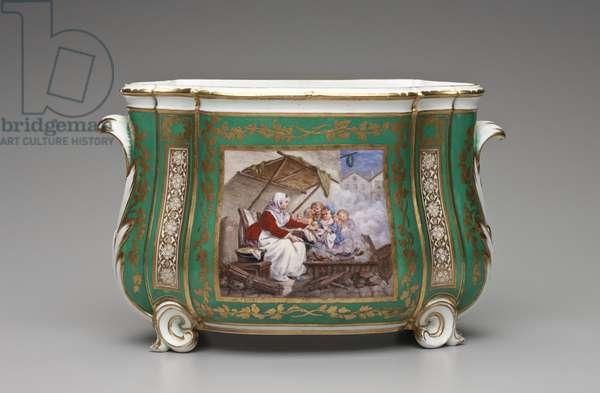 Flower Vase, Sevres Porcelain Manufactory, 1765 (porcelain) (see also 465676)