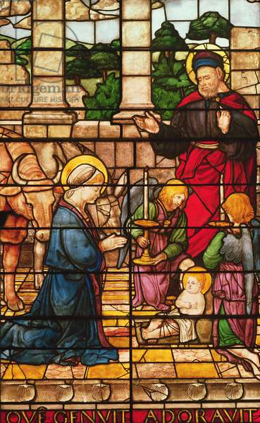 The Nativity, 1517 (stained glass)