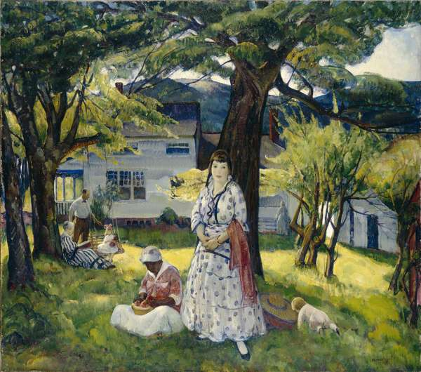 In the Country, 1916 (oil on canvas)