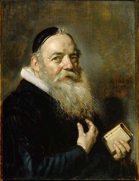 Portrait of Hendrik Swalmius, 1639 (oil on oak panel)