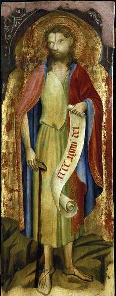 St. John the Baptist (paint on wood panel)