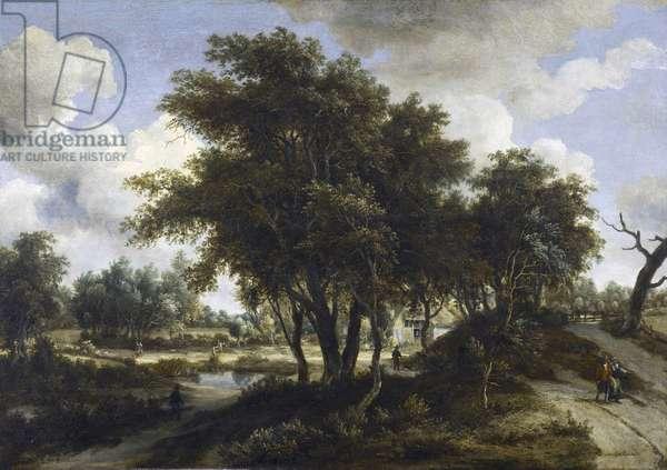 The Cottage, c.1663 (oil on oak panel)