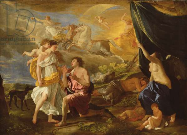 Selene and Endymion, c.1630 (oil on canvas)