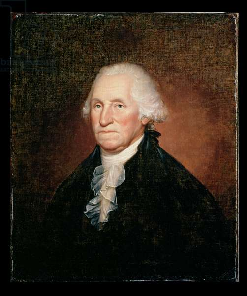 George Washington (1732-99) 1795 (oil on canvas)