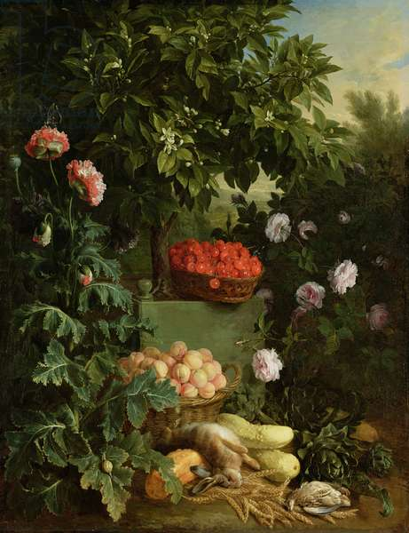 Summer, 1711 (oil on canvas)